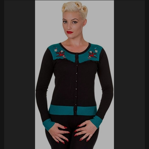 Banned Apparel Swallows Cardigan